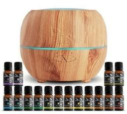 ArtNaturals Aromatherapy Essential Oil and Diffuser Set w 16