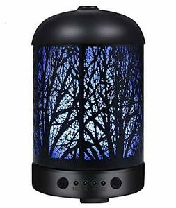 COOSA Aromatherapy Essential Oil Diffuser - Metal Ultrasonic