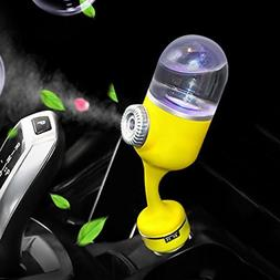 YJY Car Diffuser Essential Oil Diffuser with Dual USB Charge