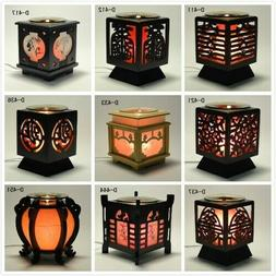 'Chinese' Wooden Electric Scent Oil Diffuser Warmer Burner A