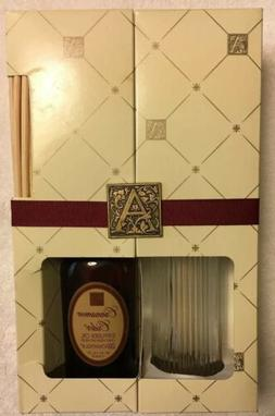 Aromatique Cinnamon Cider  Reed Diffuser Set With 4 Oz Oil A