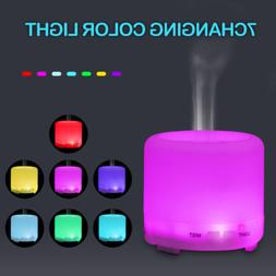 Colorful Essential Oil Aroma Diffuser Air Humidifier Mist Pu