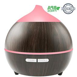 Essential Oil Diffuser, Soft Digits 250ml Wood Grain Aromath