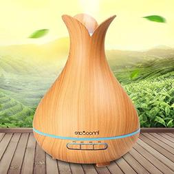 Innoo Tech Wood Grain Cool Mist Humidifier 300ml Essential O
