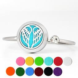 Essential Oil Diffuser Bracelet Stainless Steel Aromatherapy