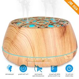 Essential Oil Diffuser, Unique 4 Mist Holes Aromatherapy Fra