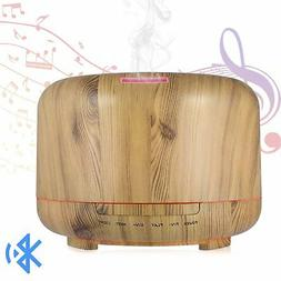 Hrome Essential Oil Diffuser Humidifier with Bluetooth Speak