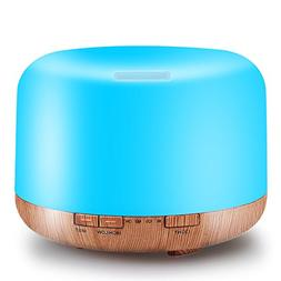 500ML Essential Oil Diffuser Humidifiers Ultrasonic Aromathe