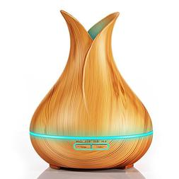 KBAYBO 400ml Aroma Essential Oil Diffuser Ultrasonic Air Hum
