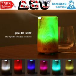 Electric Air Diffuser Aroma Oil Humidifier Light Up Bedroom