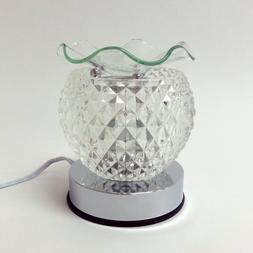 Electric Glass Touch Lamp Essential Oil Diffuser Oil Burner
