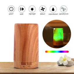 Electric Humidifier Air Diffuser Aroma Oil Light Up Bedroom