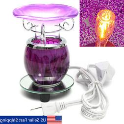Electric Scented Oil Warmer Lamp Wax Burner Bulb Fragrance D