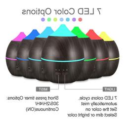 Essential Aromatherapy Aroma Cool Mist Diffuser Humidifier H