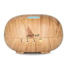 Essential Oil Diffuser - 300mL Ultra Quiet Wood Grain Aromat