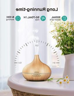 Essential Oil Diffuser 300ml With 4 Timer Aromatherapy Auto