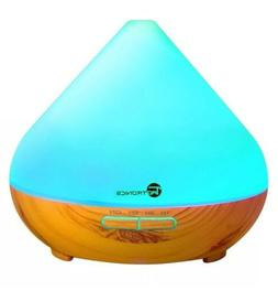 Essential Oil Diffuser, 300ml Wood Grain Aroma Diffuser Cool