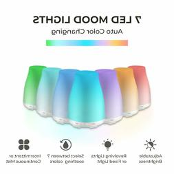 Essential Oil Diffuser LED Air Mist Ultrasonic Aromatherapy