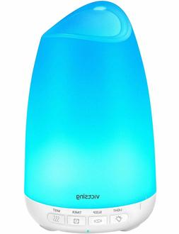 Essential Oil Diffuser 8 Color Lights, Cool Mist Humidifier
