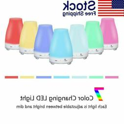 Essential Oil Diffuser Aromatherapy Cool Mist Ultrasonic Hum