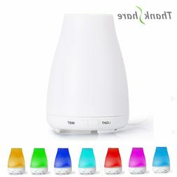 Essential Oil Diffuser Humidifier 100ml Air Aromatherapy 7LE