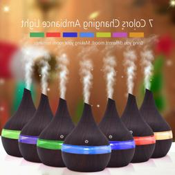 Essential Oil Diffuser Ultrasonic Aroma Therapy Scent Air Bu