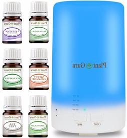 Essential Oil Diffuser Gift Set 70ml Humidifier With Pure Ar