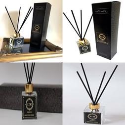 Essential Oil Reed Diffuser Jasmine Bamboo Gift Set 3.4Oz 10