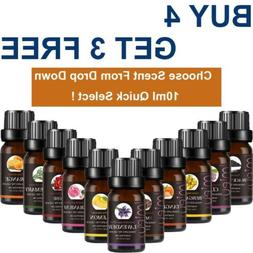 Essential Oils 10ml Aromatherapy Natural Home Fragrances Ess