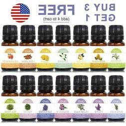Essential Oils Aromatherapy Organic 100% Natural Therapeutic