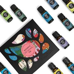 Everyday 100% Pure Essential Oil Gift Set-12/10 ml