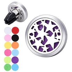Five-pointed Star Car Air Freshener Aromatherapy Essential O