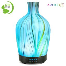 <font><b>COOSA</b></font> Glass Aromatherapy Ultrasonic Esse