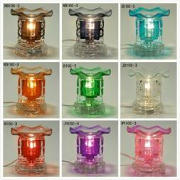 Glass Electric Dice Scent Oil Tart Diffuser Warmer Burner Ar