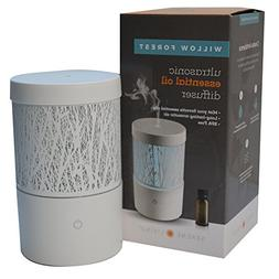 Serene Living Willow Forest White Essential Oil Diffuser for