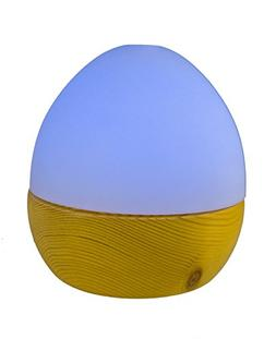 GreenAir Serene Living Wooden Egg Essential Oil Diffuser and