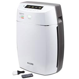 DELLA True HEPA Filter Air Purifier Ionic UV Cleaning System