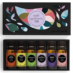 HOME Aroma Set 100% Pure Therapeutic Grade Essential Oil Kit