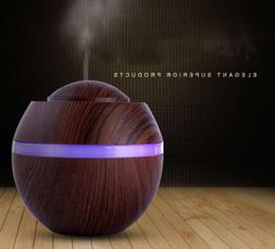 Home Office 500ml Essential Oil Aroma Diffuser Air Led Humid