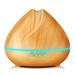 KBAYBO 400ml Humidifier Aroma Essential Oil Diffuser Ultraso
