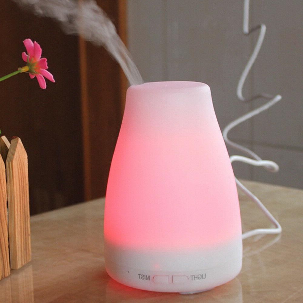 100ml LED Essential Diffuser Aroma Humidifier Purifier