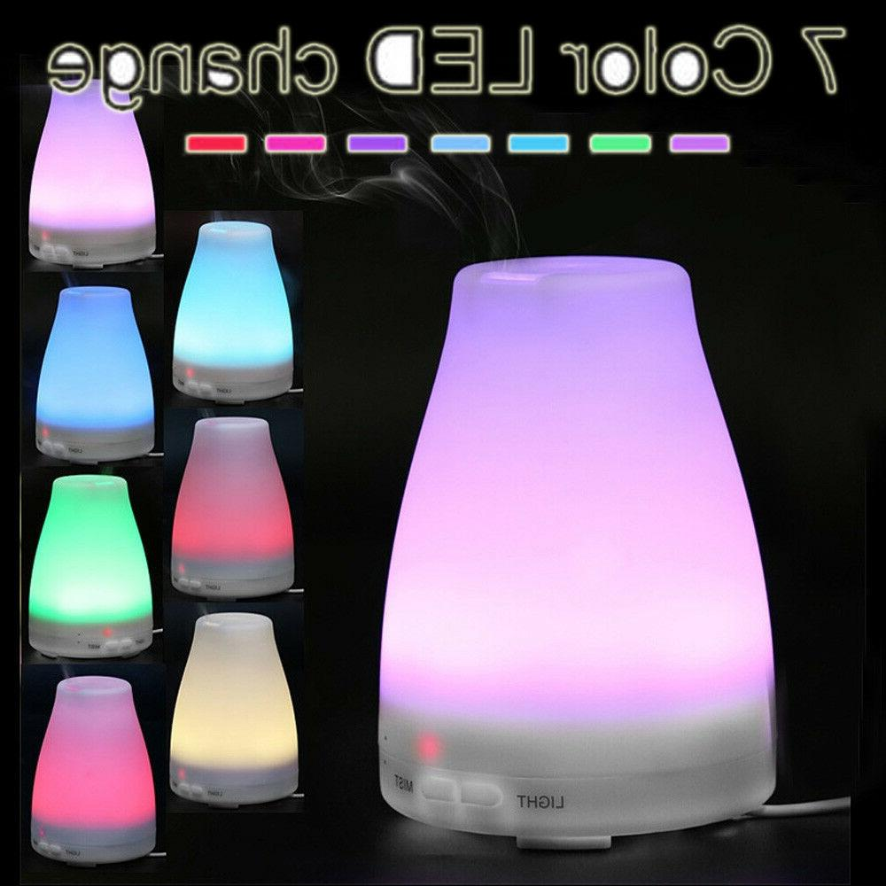 100ml led air aromatherapy essential oil diffuser