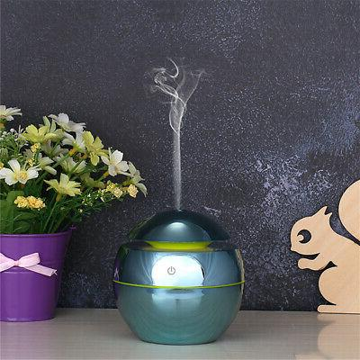 130ml Mist Ultrasonic LED Aroma Diffuser Home