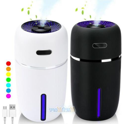 quiet 7 led essential oil humidifier aroma