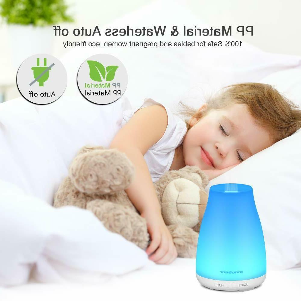 InnoGear Upgraded Diffuser Diffusers Humidifier
