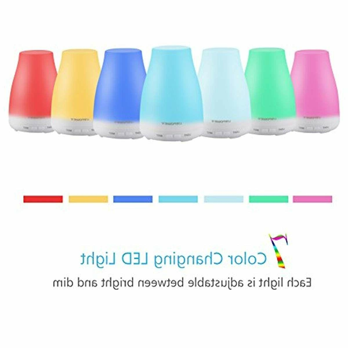URPOWER 2nd Version Essential Oil Cool Mist Humidif