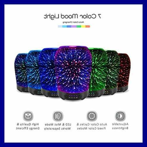 3D Aromatherapy Oil Diffuser Ultrasonic Aroma