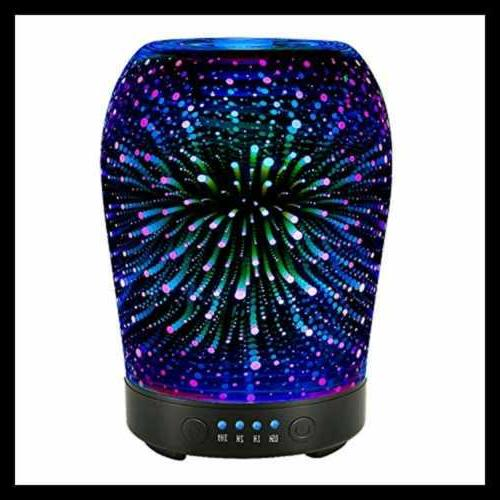 3D Aromatherapy Oil Diffuser COOSA Ultrasonic Aroma Diffus