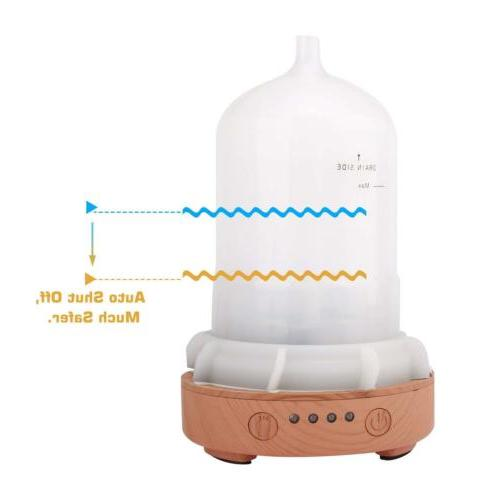 MoKo Oil Diffuser Cool Mist Humidifier LED Changing