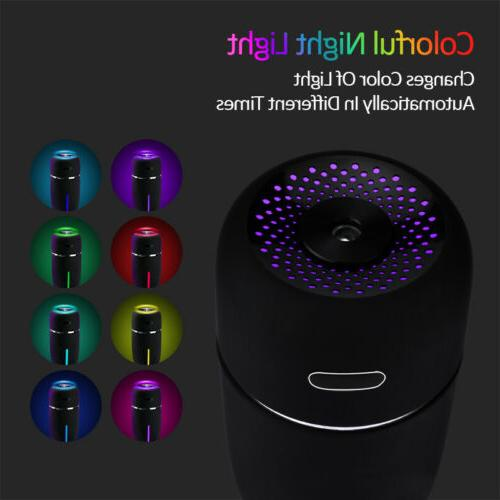 Quiet 7 LED Essential Oil Aroma Aromatherapy Cool Mist